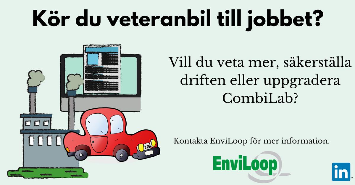 Kör du veteranbil till jobbet?